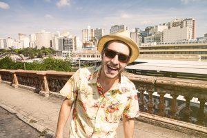 Gustavo Maguá será a atração da festa de entrega do Prêmio Délio Rocha. Foto Henrique Falci/divulgação.